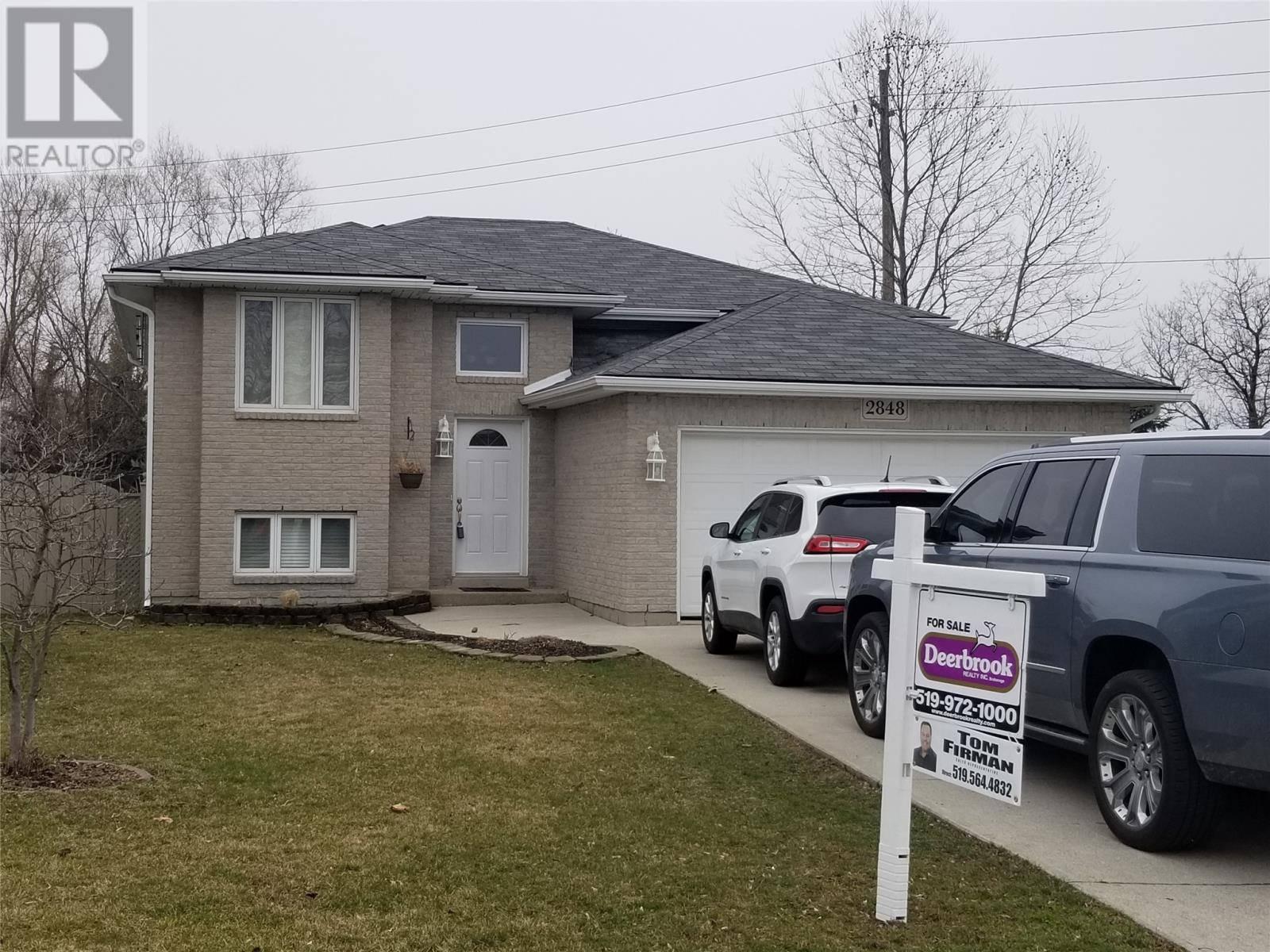 House for sale at 2848 Robillard  Windsor Ontario - MLS: 20003476
