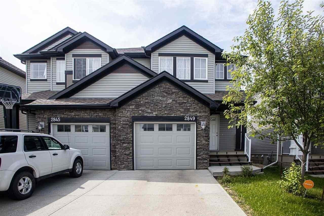 Townhouse for sale at 2849 18a Av NW Edmonton Alberta - MLS: E4202054