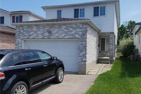 House for rent at 285 Bankside Dr Kitchener Ontario - MLS: X4464484