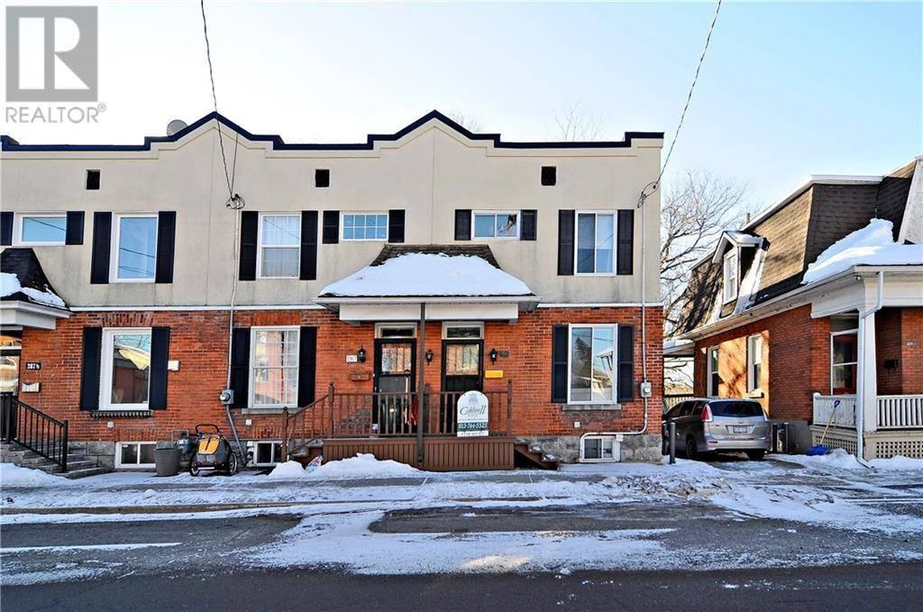 Townhouse for rent at 285 Crichton St Ottawa Ontario - MLS: 1177409