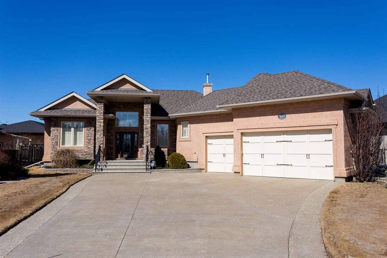 House for sale at 285 Estate Way Cres Rural Sturgeon County Alberta - MLS: E4189442