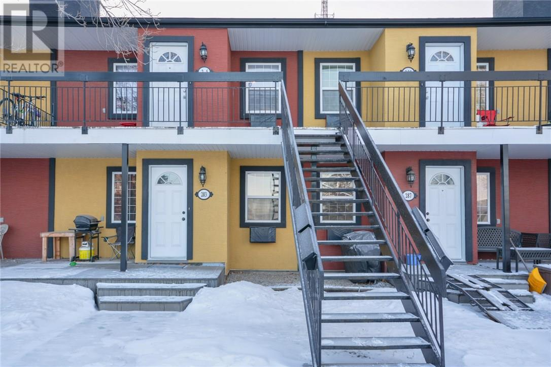 For Sale: 285 Fines Drive, Regina, SK | 2 Bed, 1 Bath Townhouse for $169,900. See 25 photos!