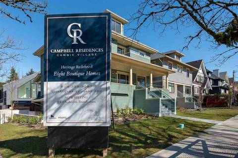 Townhouse for sale at 2858 Yukon St Vancouver British Columbia - MLS: R2447169