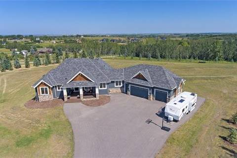 House for sale at 286020 50 St East Rural Foothills County Alberta - MLS: C4262777
