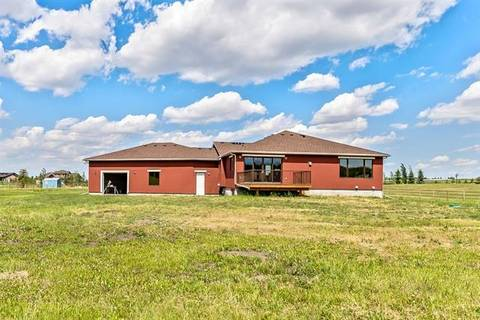 House for sale at 286071 50 St East Rural Foothills County Alberta - MLS: C4254576