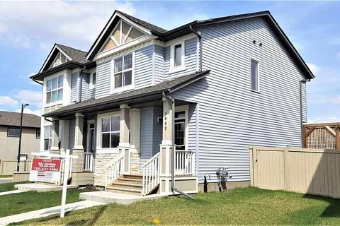 Townhouse for sale at 2862 Maple Wy Nw Edmonton Alberta - MLS: E4154086