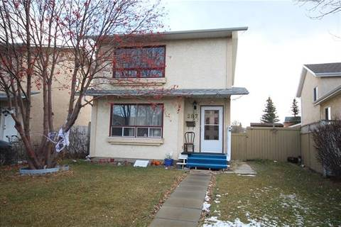 House for sale at 287 Martindale Blvd Northeast Calgary Alberta - MLS: C4259180
