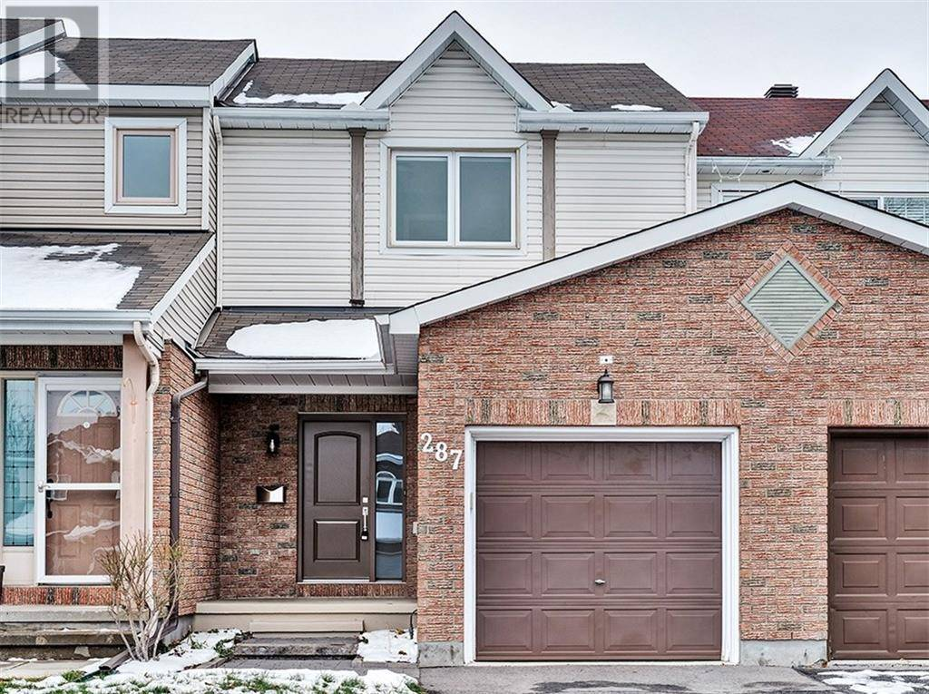 Townhouse for rent at 287 Stoneway Dr Ottawa Ontario - MLS: 1176116