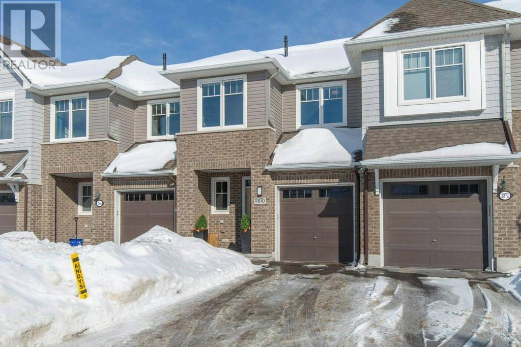 Townhouse for sale at 2870 Grand Canal St Ottawa Ontario - MLS: 1182488