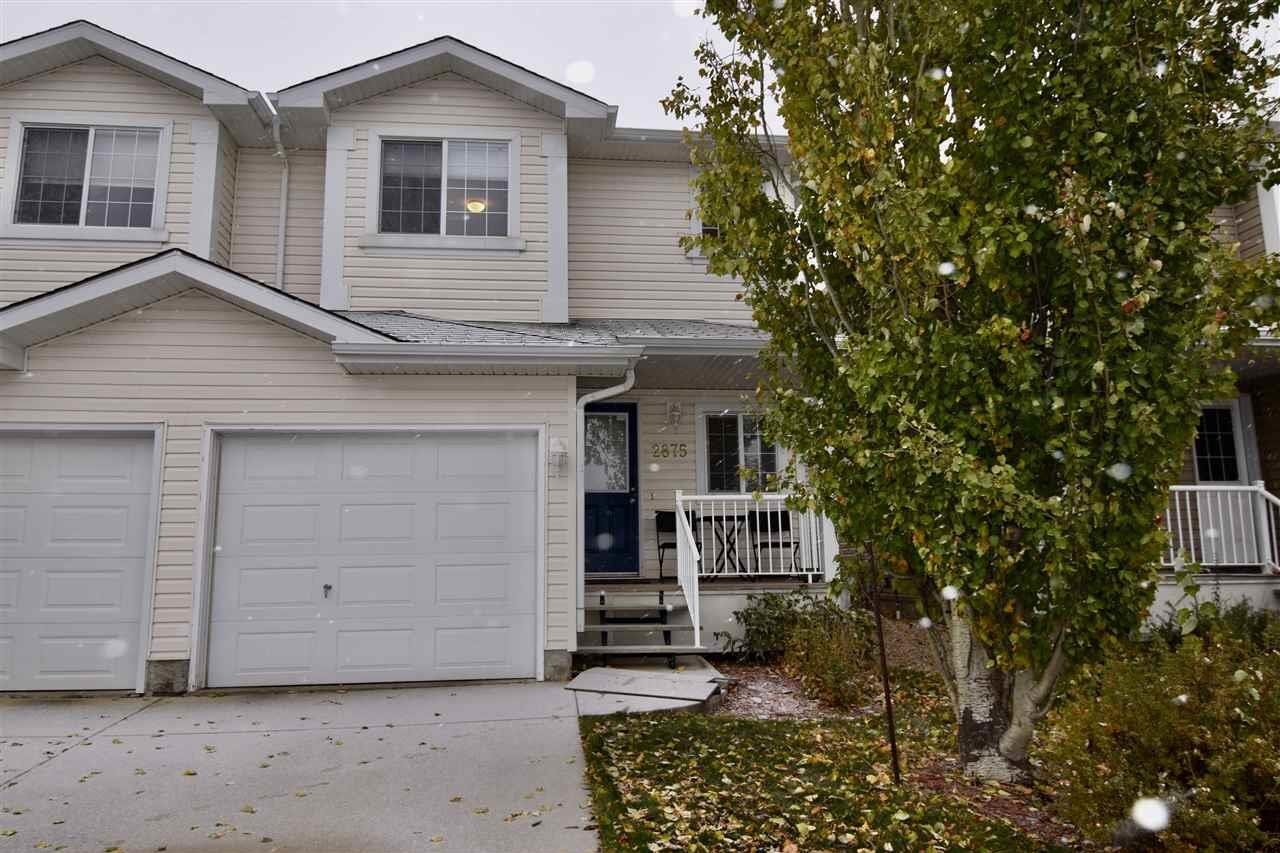 Townhouse for sale at 2875 23 St NW Edmonton Alberta - MLS: E4218480