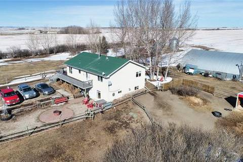 House for sale at 288052 466 Ave East Rural Foothills County Alberta - MLS: C4232129