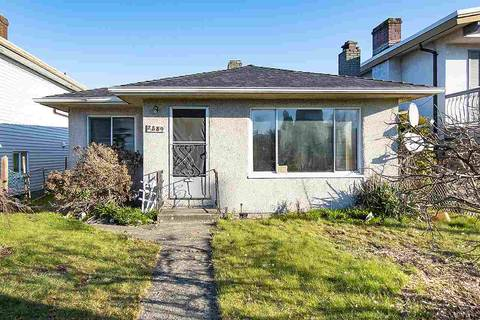 House for sale at 2889 Mcgill St Vancouver British Columbia - MLS: R2446051