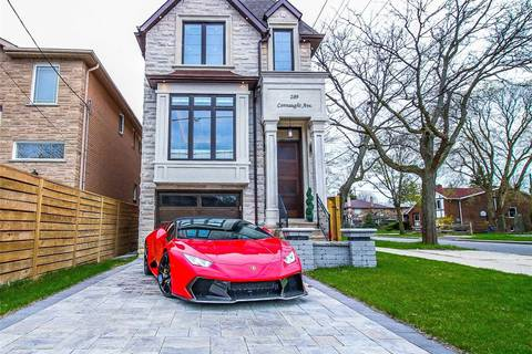 House for sale at 289 Connaught Ave Toronto Ontario - MLS: C4445333