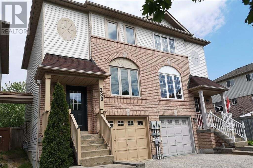 House for sale at 289 Ferndale Dr South Barrie Ontario - MLS: 30811110