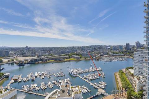 Residential property for sale at 1088 Marinaside Cres Unit 29 Vancouver British Columbia - MLS: R2348250