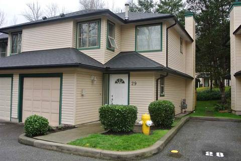 Townhouse for sale at 21960 River Rd Unit 29 Maple Ridge British Columbia - MLS: R2436064