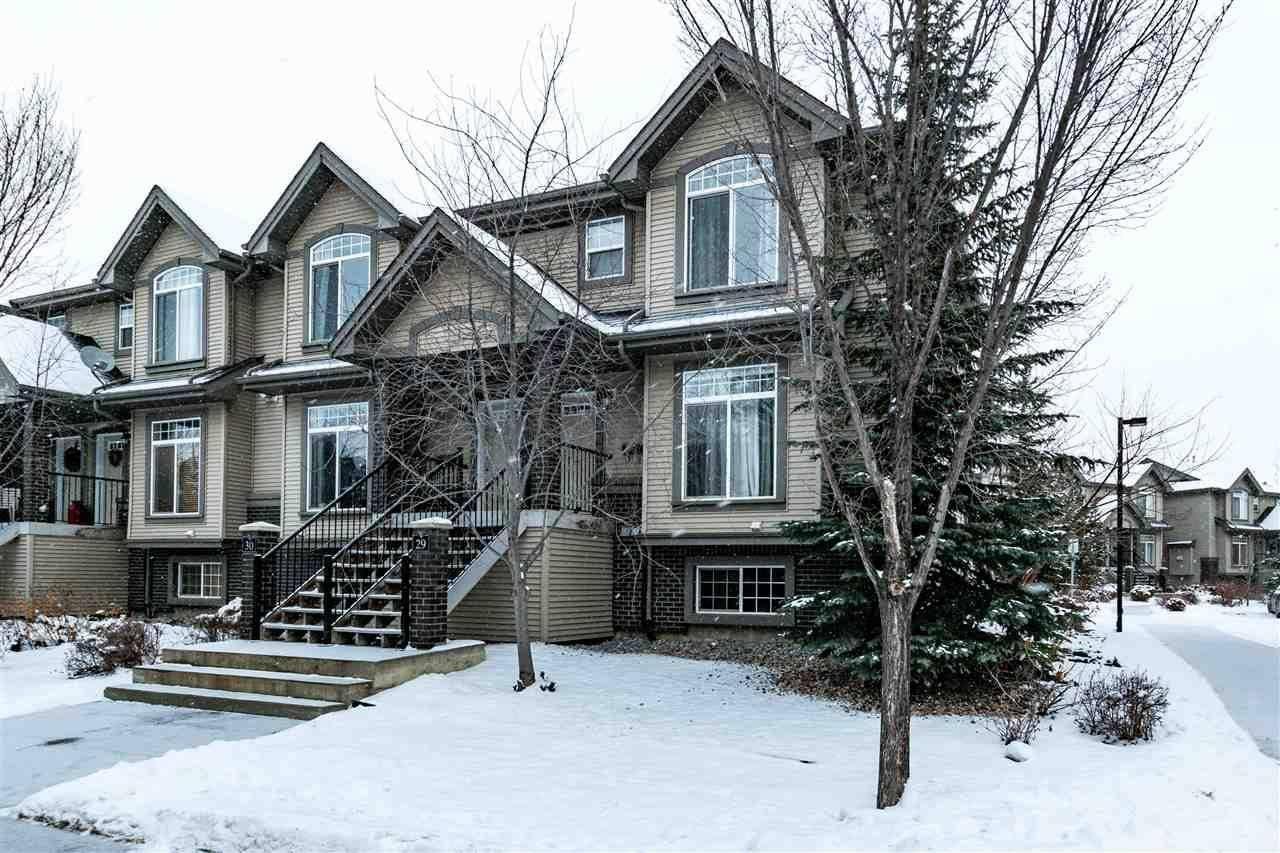 Townhouse for sale at 4731 Terwillegar Common Nw Unit 29 Edmonton Alberta - MLS: E4191514