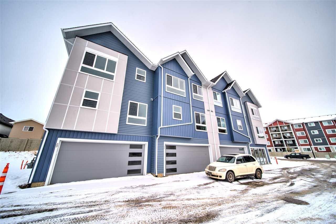 Townhouse for sale at 979 Crystallina Nera Wy NW Unit 29 Edmonton Alberta - MLS: E4206579