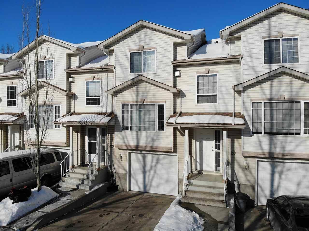 Townhouse for sale at 9935 167 St Nw Unit 29 Edmonton Alberta - MLS: E4187724