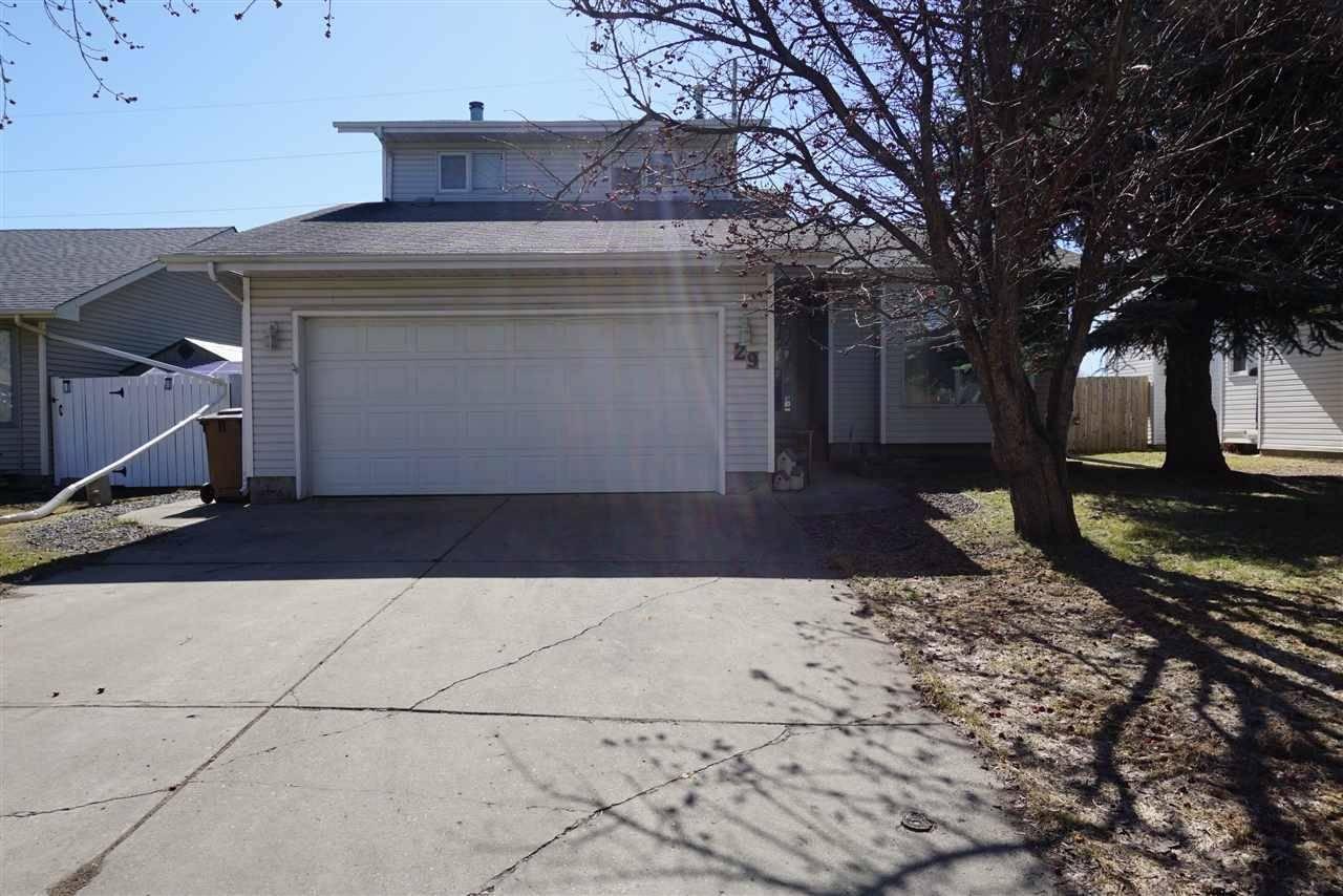 House for sale at 29 Alderwood Blvd St. Albert Alberta - MLS: E4189779