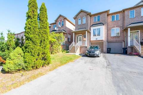 Townhouse for sale at 29 Andover Cres Toronto Ontario - MLS: E4957277
