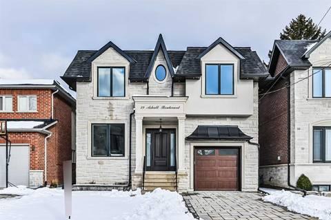 House for sale at 29 Ashall Blvd Toronto Ontario - MLS: E4689338