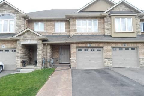 Townhouse for sale at 29 Bonhill Blvd Stoney Creek Ontario - MLS: H4054447
