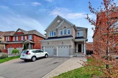 Townhouse for sale at 29 Borjana Blvd Vaughan Ontario - MLS: N4774842