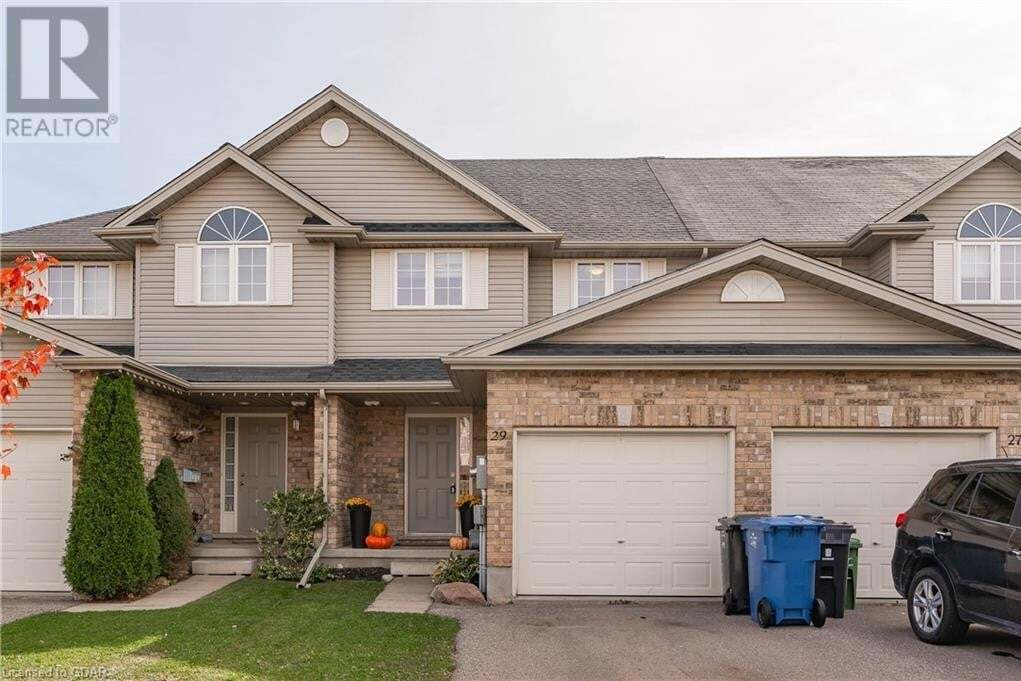 Townhouse for sale at 29 Clough Cres Guelph Ontario - MLS: 40034313