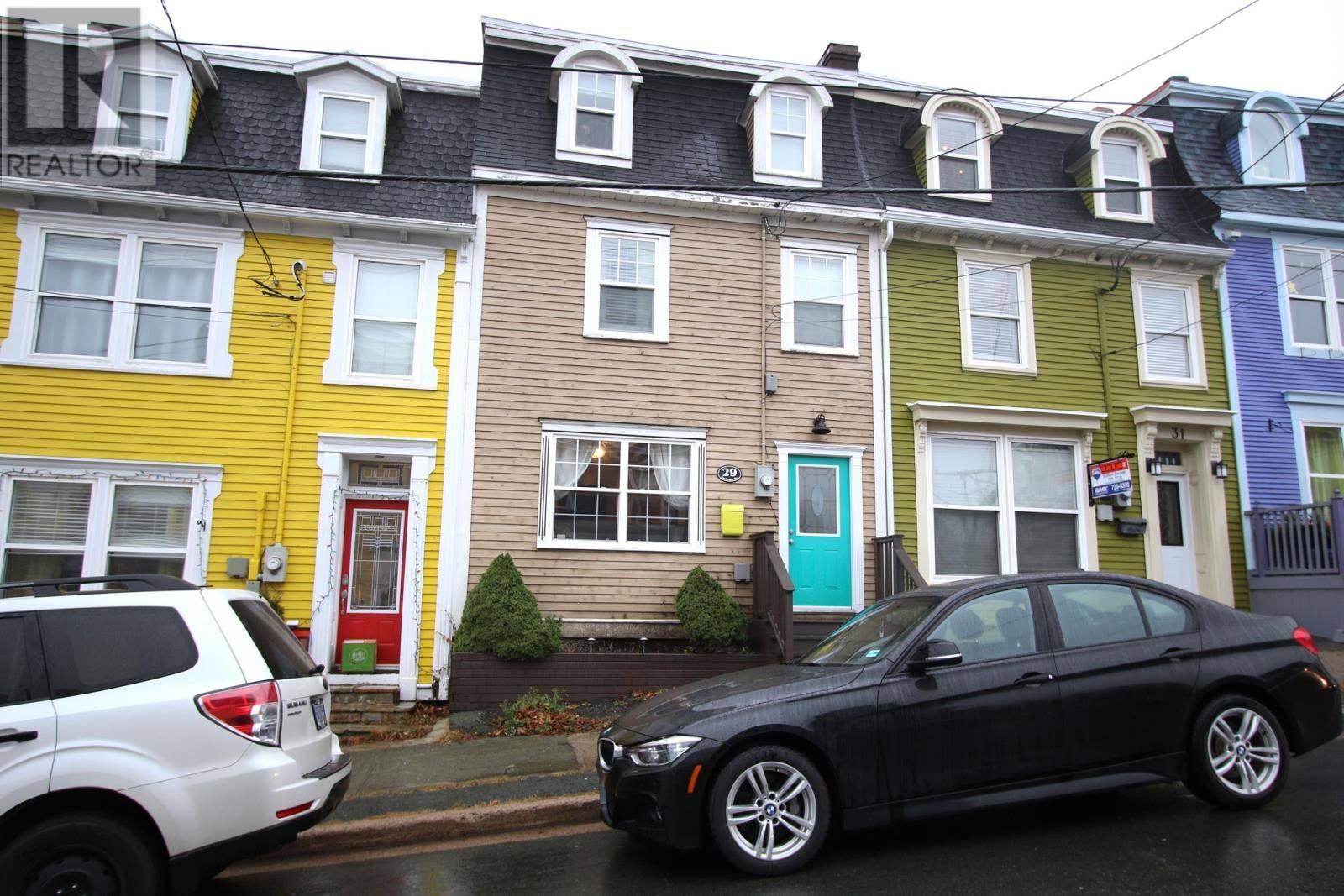 House for sale at 29 Cochrane St St. John's Newfoundland - MLS: 1211855