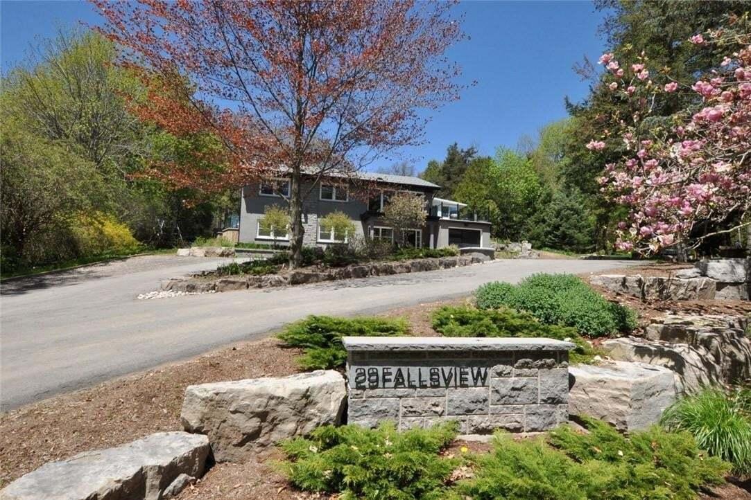 House for sale at 29 Fallsview Rd Flamborough Ontario - MLS: H4074118