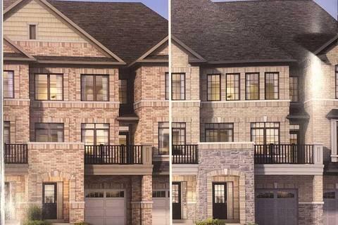 Townhouse for sale at 29 Haymarket Dr Unit B374 Brampton Ontario - MLS: W4672361