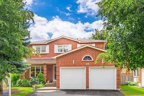 House for sale at 29 Hemlock Dr Markham Ontario - MLS: N4644761