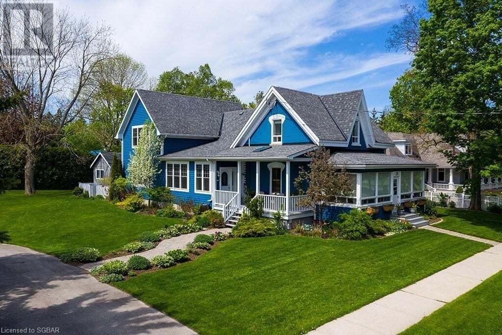 House for sale at 29 Huron St W Thornbury Ontario - MLS: 262444