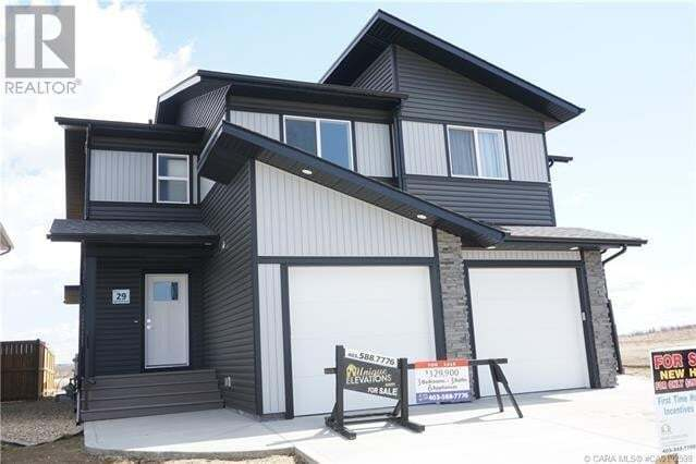 Townhouse for sale at 29 Iron Gate Blvd Sylvan Lake Alberta - MLS: ca0192598