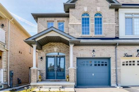 Townhouse for sale at 29 Lisson Cres Brampton Ontario - MLS: W4419361
