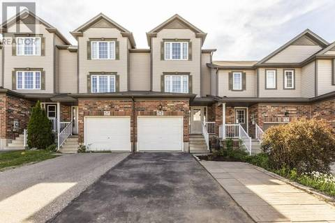Townhouse for sale at 29 Madeleine St Kitchener Ontario - MLS: 30743039