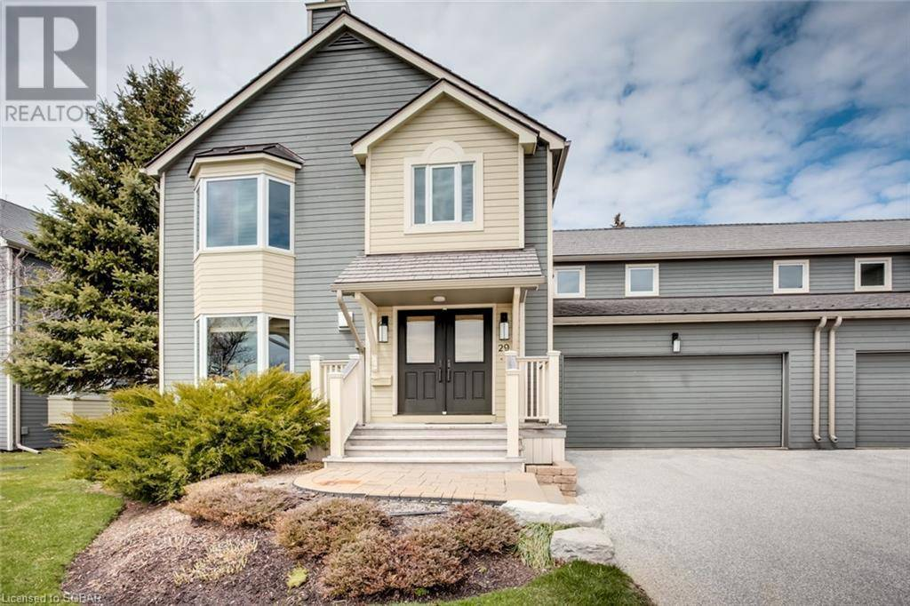 Townhouse for sale at 29 Mariners  Collingwood Ontario - MLS: 255900