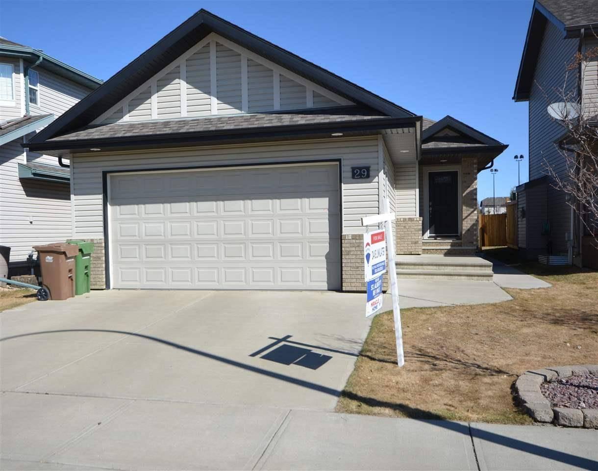 House for sale at 29 Napoleon Cres St. Albert Alberta - MLS: E4192044