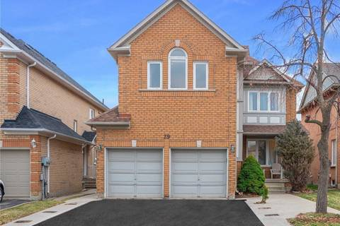 House for sale at 29 Rainforest Dr Brampton Ontario - MLS: W4472577