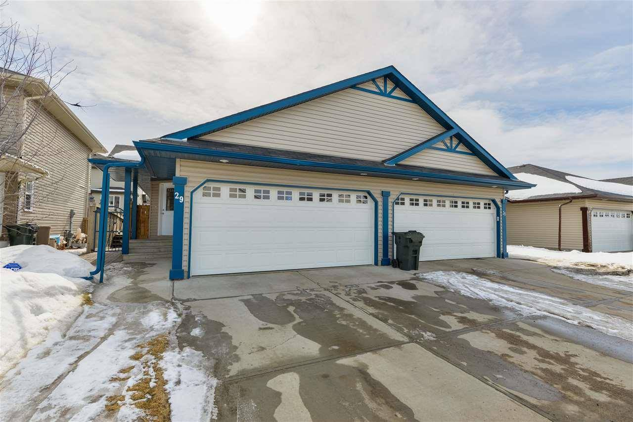 Townhouse for sale at 29 Spruce Gardens Cres Spruce Grove Alberta - MLS: E4192720