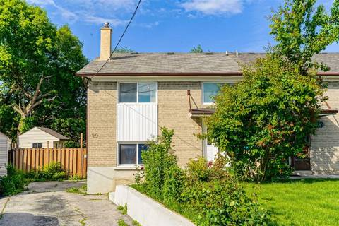 Townhouse for sale at 29 Tampa Terr Toronto Ontario - MLS: W4492571