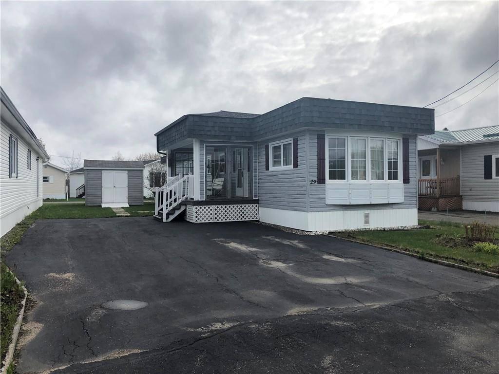House for sale at  29 Te Grand Sault/grand Falls New Brunswick - MLS: NB016576