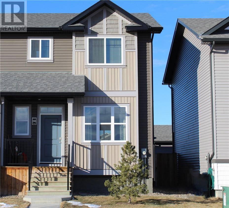 Townhouse for sale at 290 Mildred Dobbs Blvd N Lethbridge Alberta - MLS: ld0188604