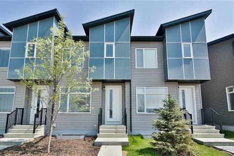 Townhouse for sale at 290 Redstone Blvd Northeast Calgary Alberta - MLS: C4247508