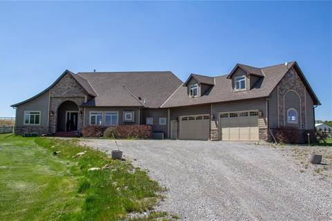 House for sale at 290063 34 St West Rural Foothills County Alberta - MLS: C4244733