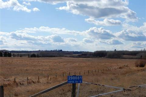 Home for sale at 290081 1016 Dr East Rural Foothills County Alberta - MLS: C4237149