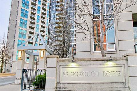 Condo for sale at 83 Borough Dr Unit 2906 Toronto Ontario - MLS: E4677449