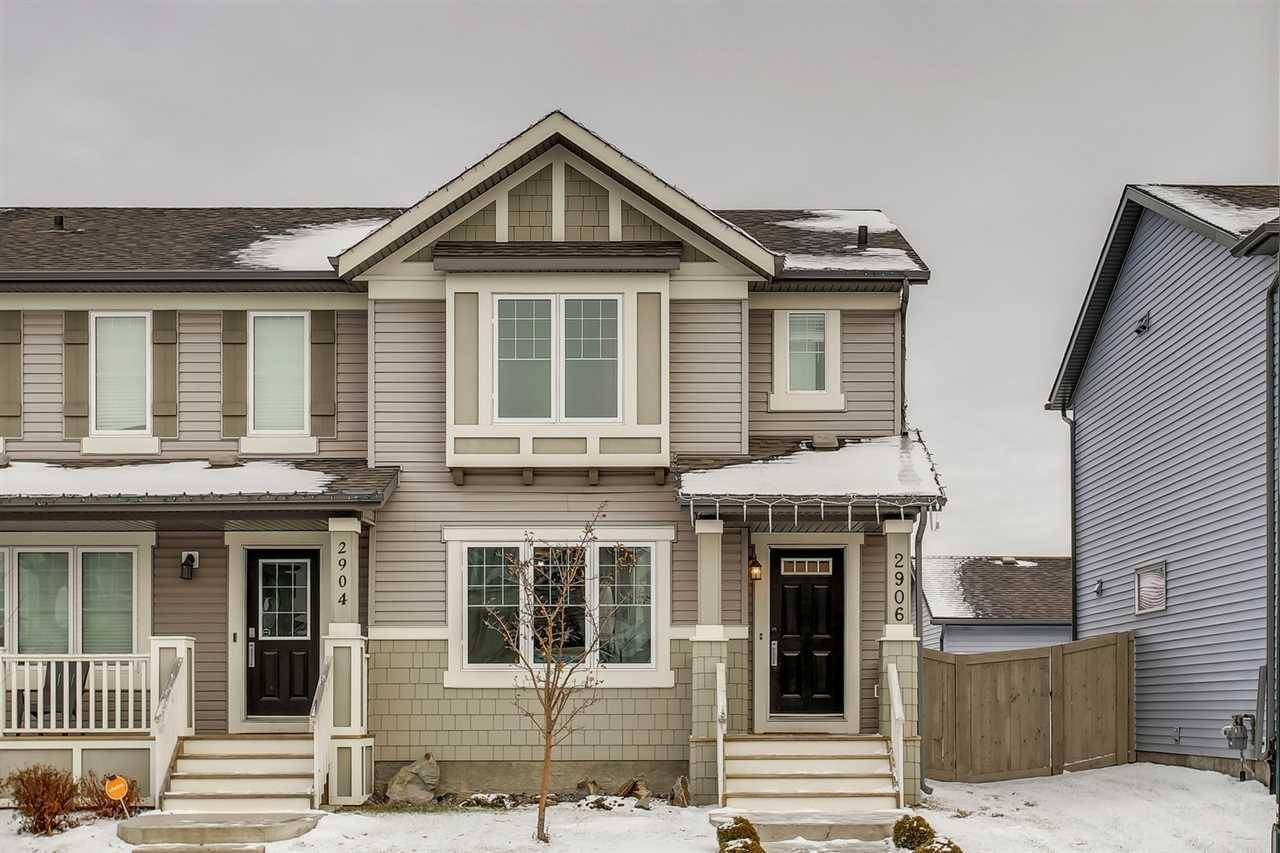 Townhouse for sale at 2906 Maple Wy Nw Edmonton Alberta - MLS: E4179817