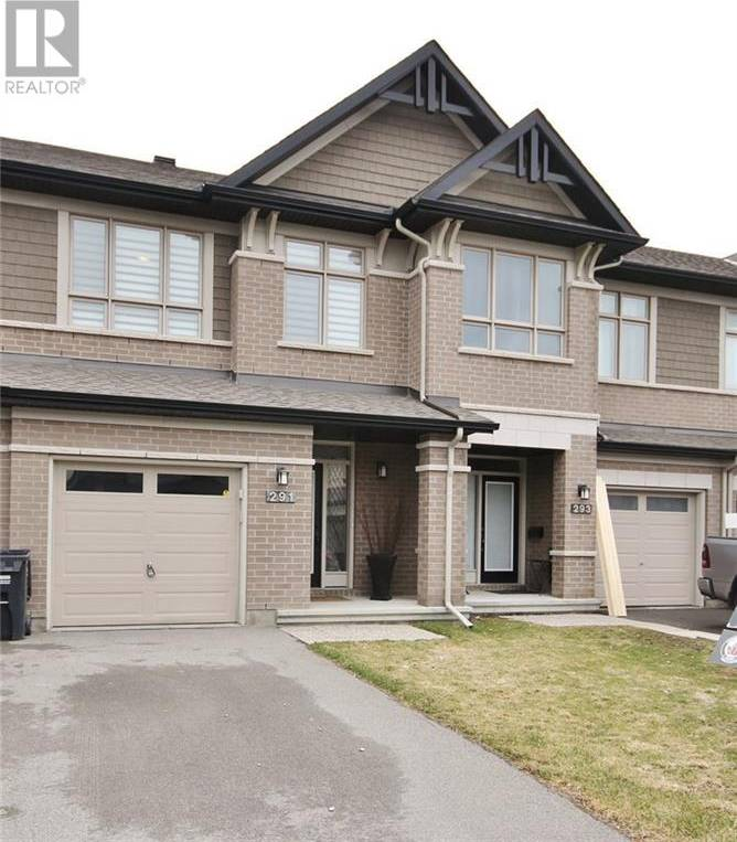 Townhouse for sale at 291 Shinleaf Cres Ottawa Ontario - MLS: 1188012